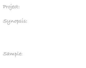 Project:     Down To Nothin' DVD