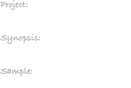 Project:     City Branding Campaign for Bartlesville, OK