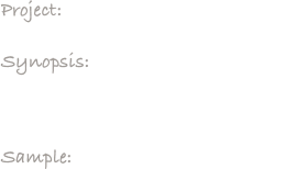 Project:     Tuna Goes to the Symphony