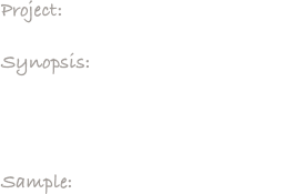 Project:     Bob Kurland Induction Video